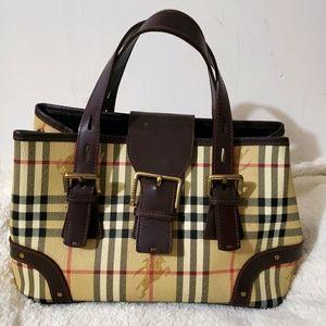 ❣ Burberry Nova Check Vintage Shoulder Bag 💖💝